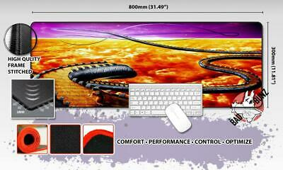 DRAGONBALL Z Razor Stitch Edged Large Size 80cm x 30cm Mouse Pad Game Mat #10