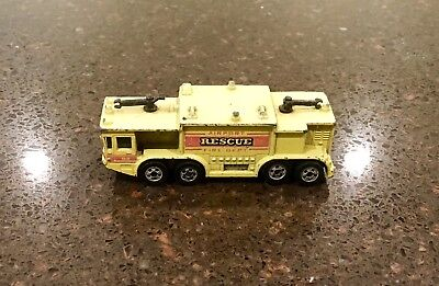 Vintage Hot Wheels 1979 Airport Rescue Fire Department