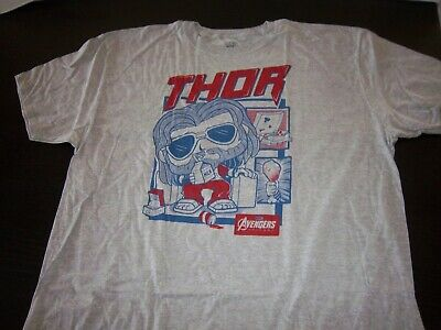 Marvel Collector Corps Avengers End Game - Thor T-Shirt [Xl] Funko New In Bag