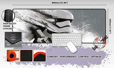 STARWARS Razor Stitch Edged Large Size 80x30cm Mouse Pad Game Mat #108