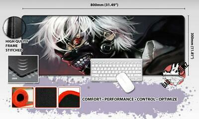 TOKYO GHOUL Razor Stitch Edged Large Size 80x30cm Mouse Pad Game Mat #77