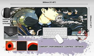 TOKYO GHOUL Razor Stitch Edged Large Size 80x30cm Mouse Pad Game Mat #76