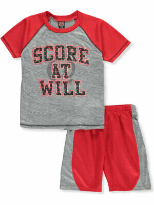 Mad Game Boys' 2-Piece Shorts Set Outfit