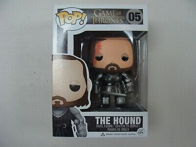 The Hound #5 * Game of Thrones * Vaulted Retired * Funko Pop! * Vinyl Figure
