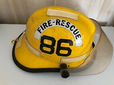 Cairns And Bros Fire-Rescue Helmet With Face Shield