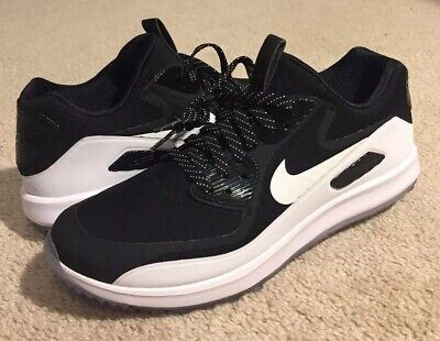 71740df244 Nike Air Max Zoom 90 IT Golf Shoes Black White 898086 001 NEW Men's US Size