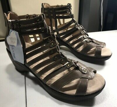 0cecc39e4d JBU Jambu Nectar Brown/Dark Tan Wedge Gladiator Cage Sandal Shoes SZ 11 M  NWOB