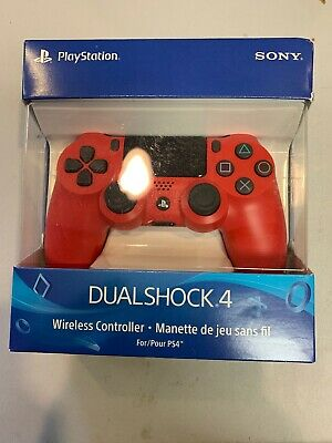 PlayStation 4 DualShock 4 Wireless Controller - Magma Red Brand new in box