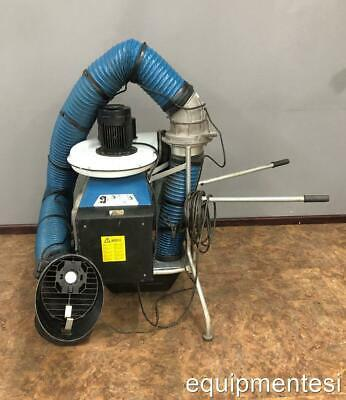 Nederman Portable Welding Fume Dust Extractor Collector 120 V 60 Hz
