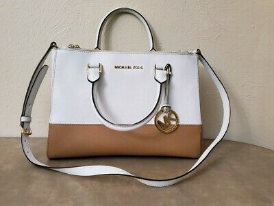 8e876d096d09 MICHAEL MICHAEL KORS Sutton Ballet Leather Medium Satchel Bag ...
