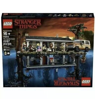 NEW LEGO Stranger Things 75810 The Upside Down NO TRUCK/Opened