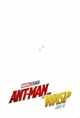 Ant-Man Wasp - Original Theater 27x40 D/S Poster Free Gift Disney Marvel