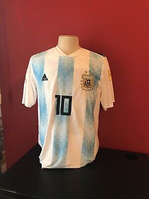 aef386775 ADIDAS LIONEL MESSI Argentina Home Jersey Copa America 2016 Patch ...