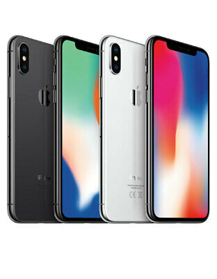 Apple iPhone X TEN 10 [64/256GB] Silver/Space Grey A1865  Unlocked AU Stock