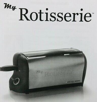 Chef Tony MY ROTISSERIE Professional Series MONTEL Kitchen Appliance NEW(other)