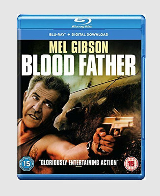 Blood Father Blu-ray Thriller/Crime/Drama/Action Movie