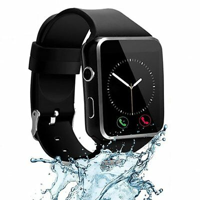 Latest Bluetooth Smart Watch with Camera Text Call Mic for LG Q7 Plus