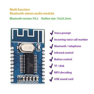 Bluetooth 4.2 Audio Receiver Module Wiriless Circuit Board Lossless Decode Board