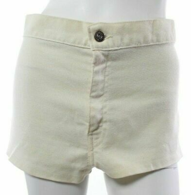 a03f8e33 Levis Vintage Big E Tab Women's Ivory Shorts Big E Sta Prest High Waisted  ...