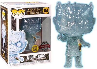 Game of Thrones - Crystal Night King with Dagger GLOW Funko Pop! ***PRE-ORDER***