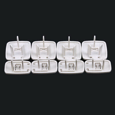8 pcs Safe Anti-power Wall Socket Outlet Point Plug Proof Protective Kid Cover B