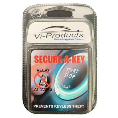 Secure-A-Key | Protect From Keyless Entry Car Theft | Fits All Cars (CR2032)