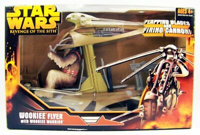 Star Wars Episode III (Revenge of the Sith) - Hasbro - Wookiee Flyer with Wookie