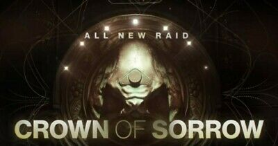 Destiny 2 - Crown Of Sorrow Full Raid Completion *48H COMPLETION TIME* [PS4]