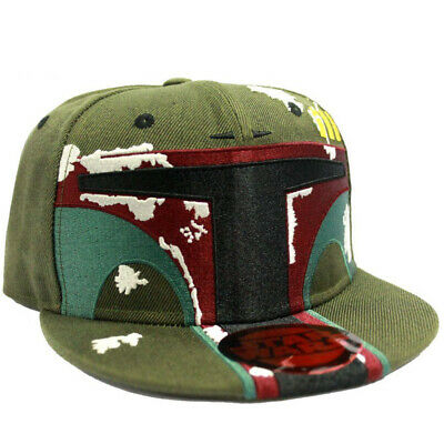 OFFICIAL Star Wars Boba Fett Helmet Novelty Baseball Cap Snapback Hat (NEW)