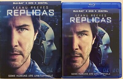 Replicas Blu Ray Dvd 2 Disc Set + Slipcover Seelve Free Shipping Keanu Reeves