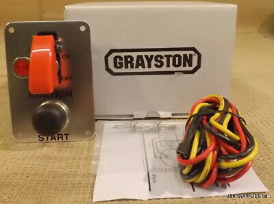 Grayston Ignition Switch And Starter Button W/ Light - Push Button Start - Ge343