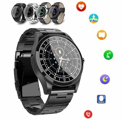 Men Luxury Bluetooth Smart Business Watch Heart Rate Blood Pressure Monitor