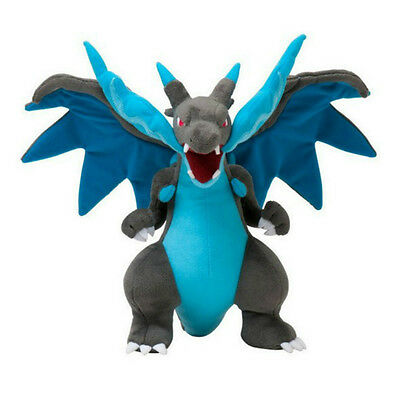 25cm Pokemon Charizard Mega Figures Soft Stuffed Plush Doll Kids Toy