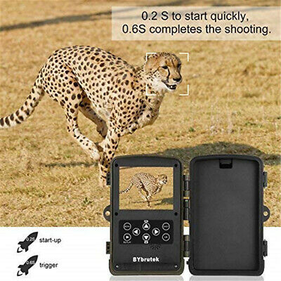 Hunting Camera 12MP Trail For Wildlife Scouting 1080P PIR Infrared-Night-Vision