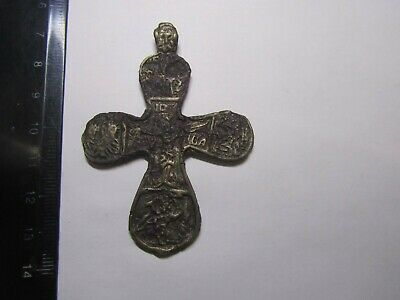 Ancient cross 14-15 centuries  100% original Metal detector finds