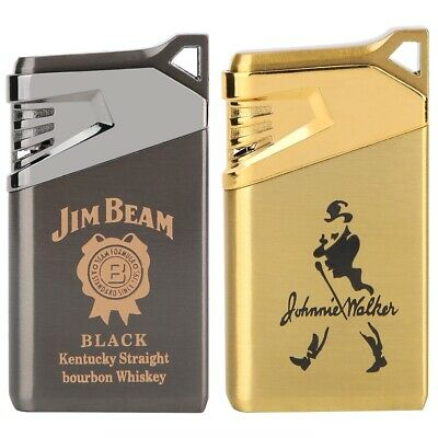 Portable Metal Lighter Gas Not Included Cigarette Men Cigarette Lighter Gift HG