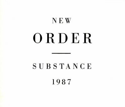 NEW ORDER substance (2X CD, compilation) greatest hits, best of, indie rock, pop