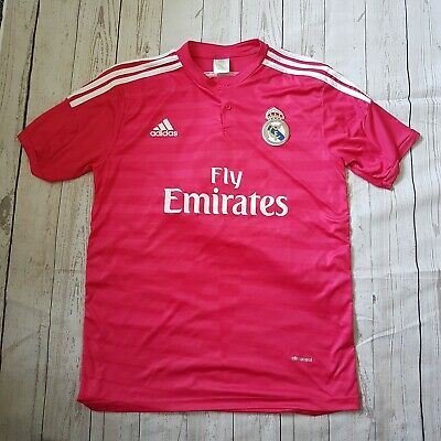factory price 83f5f 4f96a PINK REAL MADRID Ronaldo 7 Top Jersey Climacool Adidas XL