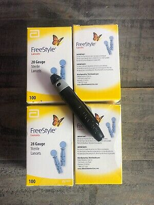 Freestyle Lancing Device  PLUS 4- Open FREESTYLE LANCETS EXP 2022/2023