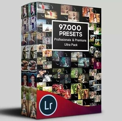 97 000 PROFESSIONAL SUPREME Premium Lightroom LR Presets and Actions  Photoshop