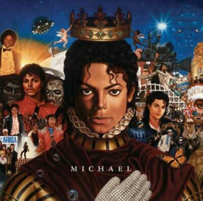 MICHAEL JACKSON michael (CD, album, 2010) RnB/swing, pop rock, ballad, very good