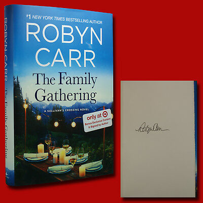 The Family Gathering by Robyn Carr (2018,HC,1st/1st) SIGNED BRAND NEW