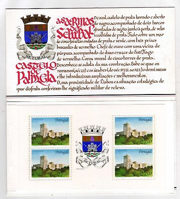 Portugal Booklet Portuguese Castles and Coats of Arms sc#1724a OG MNH** (T)