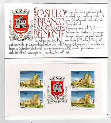 Portugal Booklet Portuguese Castles and Coats of Arms sc#1668a OG MNH** (T)