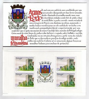 Portugal Booklet Portuguese Castles and Coats of Arms sc#1694a OG MNH** (T)