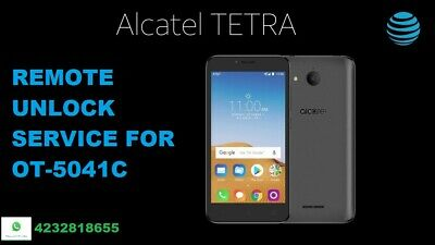 Remote Unlock Service For Alcatel Tetra 5041C/5052A/5058A/5059/5059R/