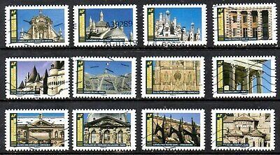 *New*  France - French - 2019 - Architecture - Styles - Full Set Of 12 Stamps