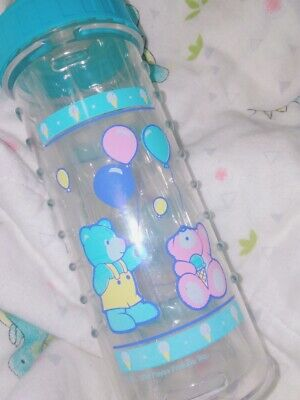 Vintage Playtex drop in bottle w/ extra nipples AND inserts