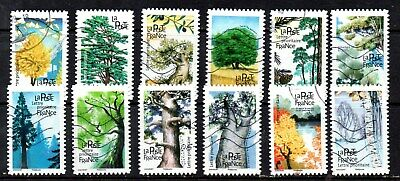 *New*  France - French - 2018 - Flora - Trees - Fu - Full Set Of 12 Stamps