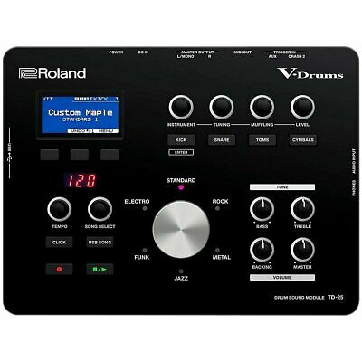 Roland TD-25 V-Drum Sound Module V Drum Sound Source New in Box